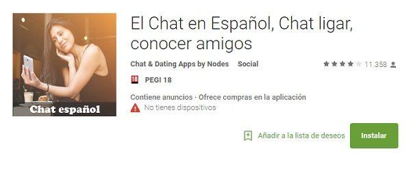Chat para conocer personas android paga por sexo Huelva-95399