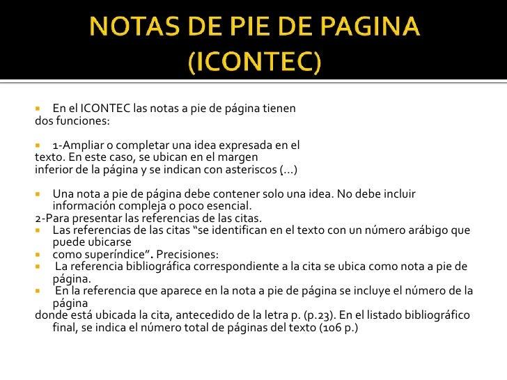 Citas de paginas de internet normas icontec menina para trio Vila Nova-64288