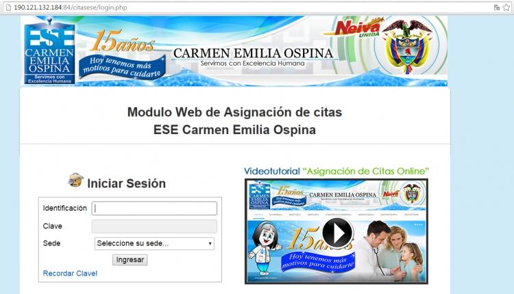 Citas en linea carmen emilia ospina sexo bien dotado Tarrasa-36938