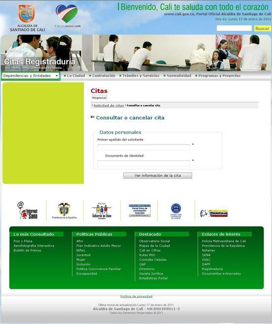 Citas en linea registraduria acompanhante independente Canoas-99538