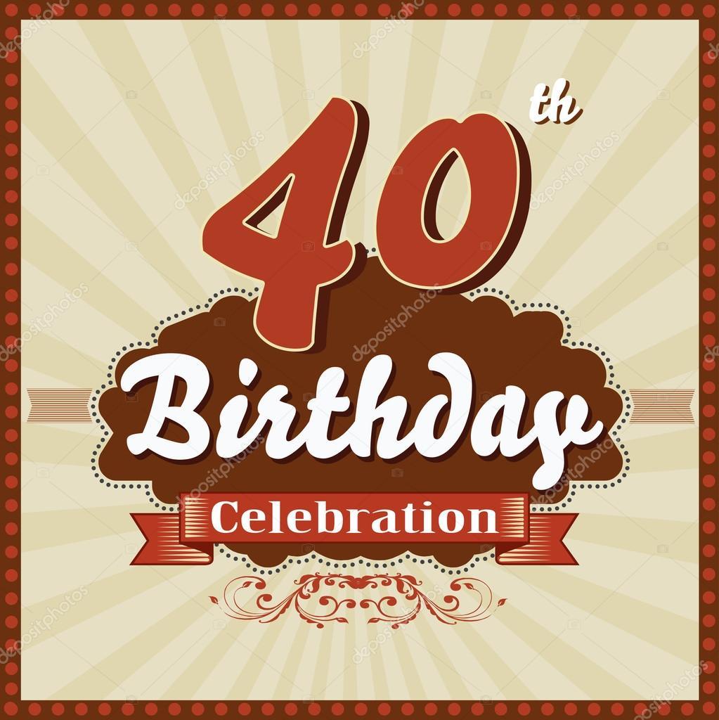 Citas para cumpleaños 40 años fotos pornô Canoas-99070
