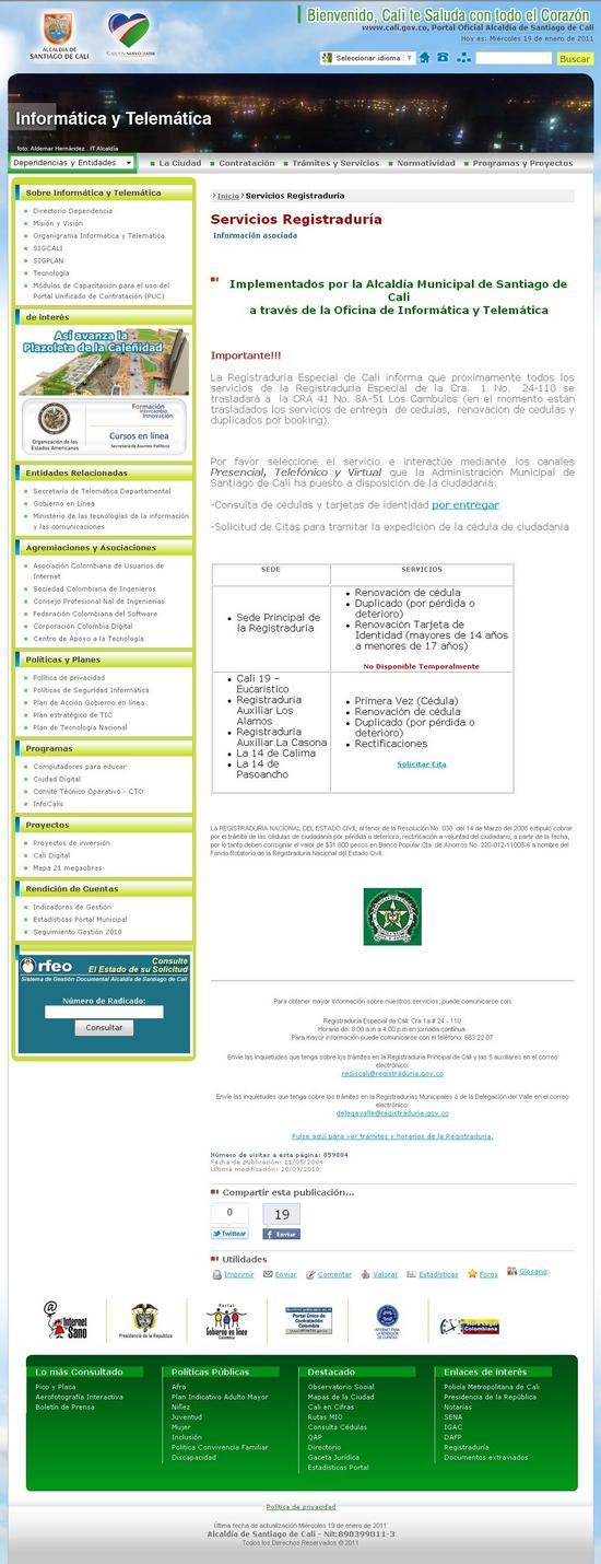Citas por internet para la registraduria chica citas Oviedo-14397