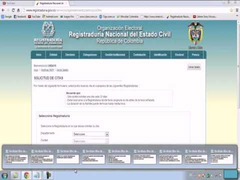 Citas por internet para la registraduria chica citas Oviedo-98873