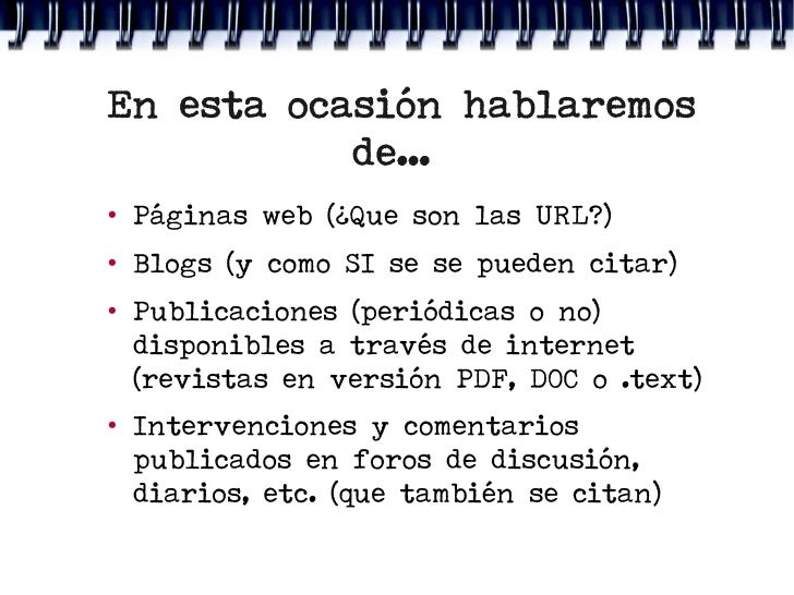 Citas web en formato apa quiero follar Vélez-79319