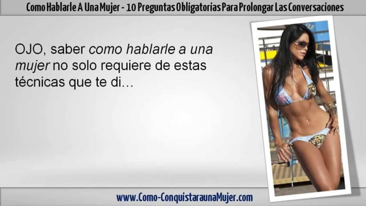 Como conocer a una mujer preguntas putas vídeos Belém-94421