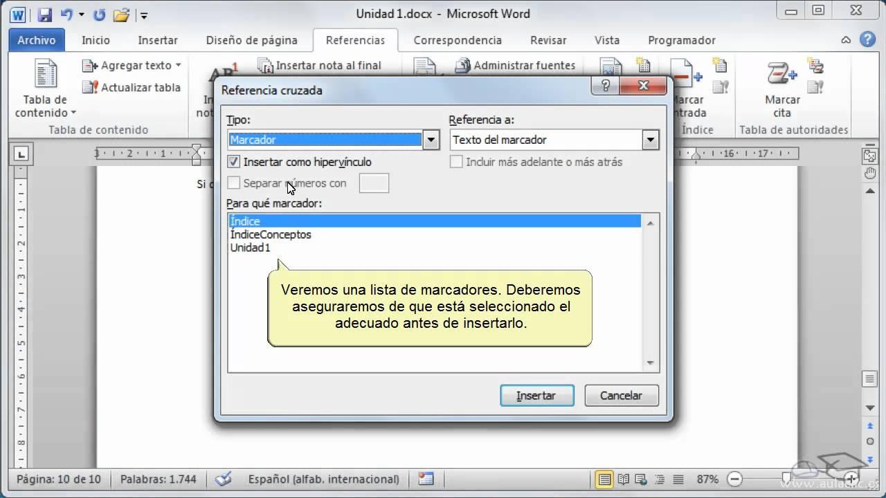 Como insertar citas de internet en word contactos mujeres Valencia-95662