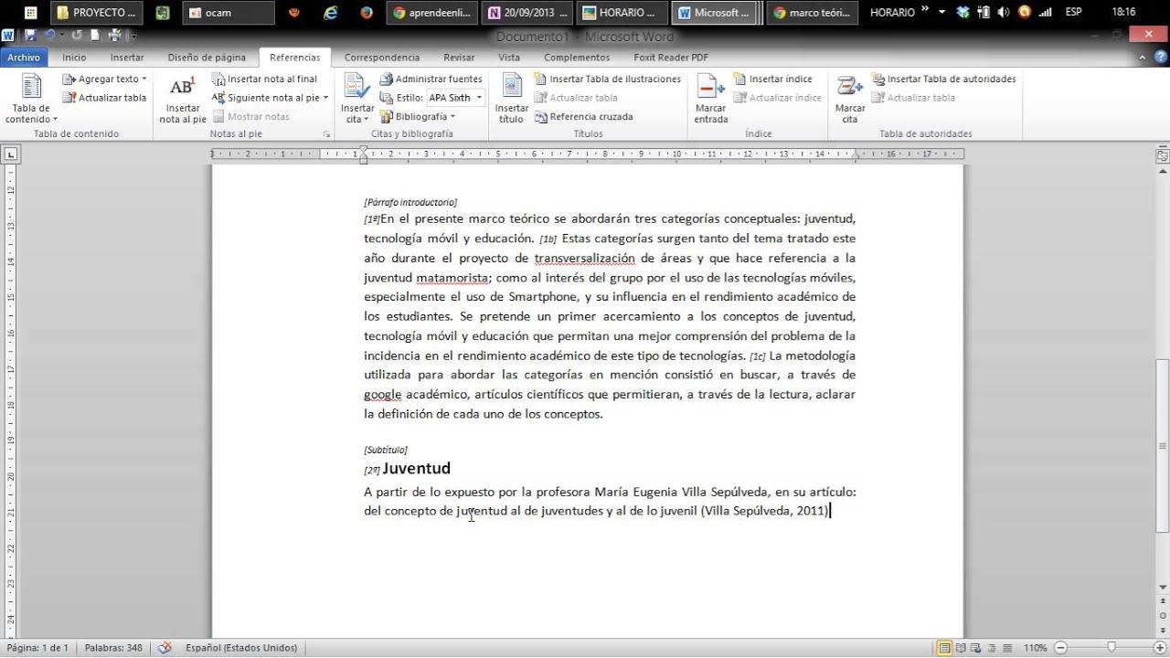 Como insertar citas de internet en word contactos mujeres Valencia-7248