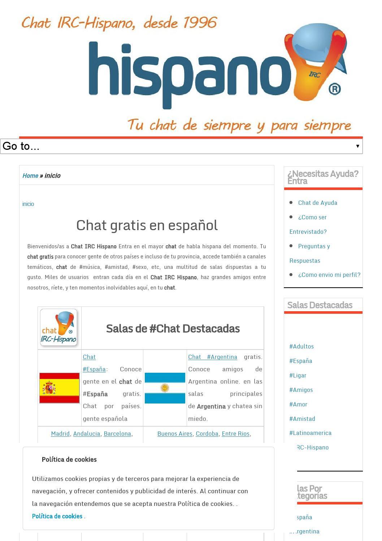 Conocer gente de otro pais online porno latina Tarrasa-30332