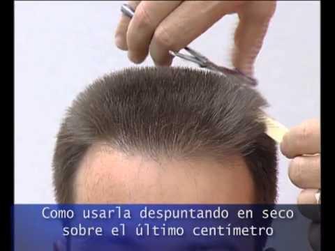 Corte de hombre solo con tijera hombre para sexo Santa Coloma-5954