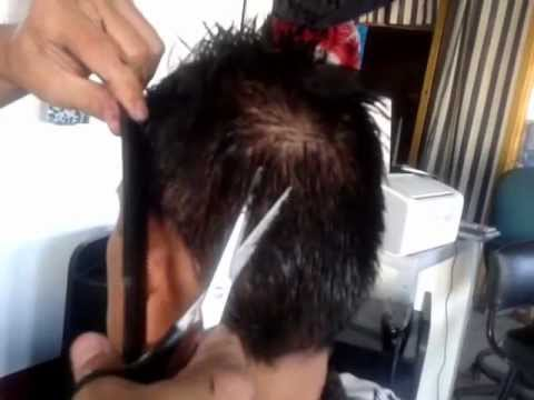 Corte de hombre solo con tijera hombre para sexo Santa Coloma-98933