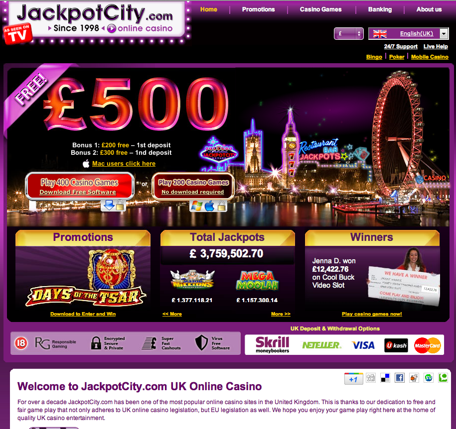 Jackpot casino reviews vivo-32517