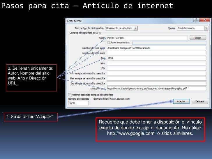 Normas apa citas web porno fotos Castellón Plana-49525