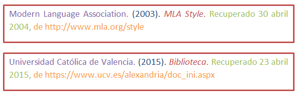 Normas apa para citas de paginas web duplex sexo Córdoba-60489