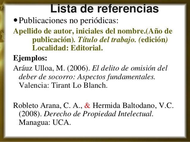 Normas apa para citas de paginas web duplex sexo Córdoba-59311