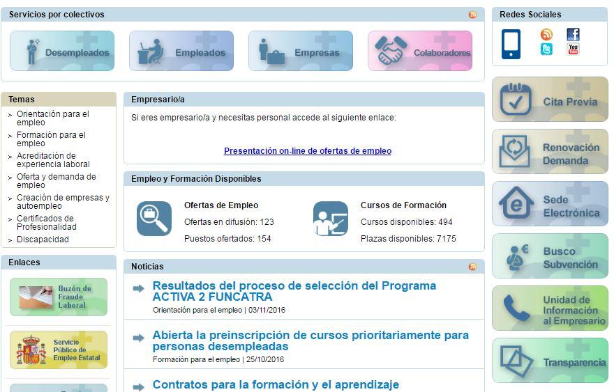 Servicio canario de empleo citas vicioso tesão Serra-54754
