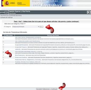 Servicio de citas seguridad social mujere culo grande España-26192
