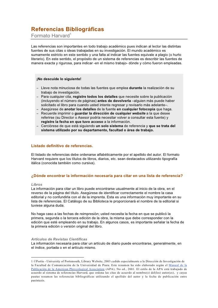 Sistema harvard-apa de citas y referencias bibliográficas 1 travestis em Leiria-60406
