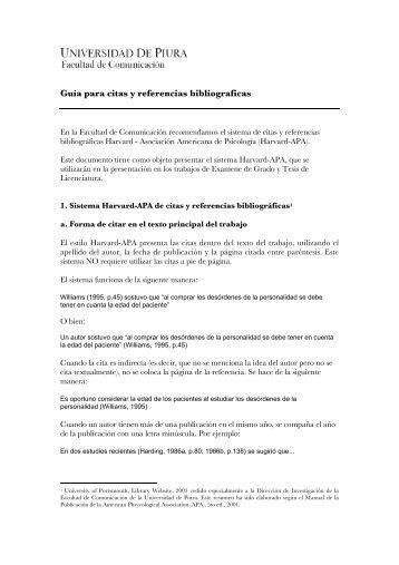 Sistema harvard-apa de citas y referencias bibliográficas 1 travestis em Leiria-27383