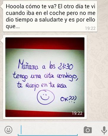 Sitio de citas por whatsapp chica sexo real San Sebastián-33741