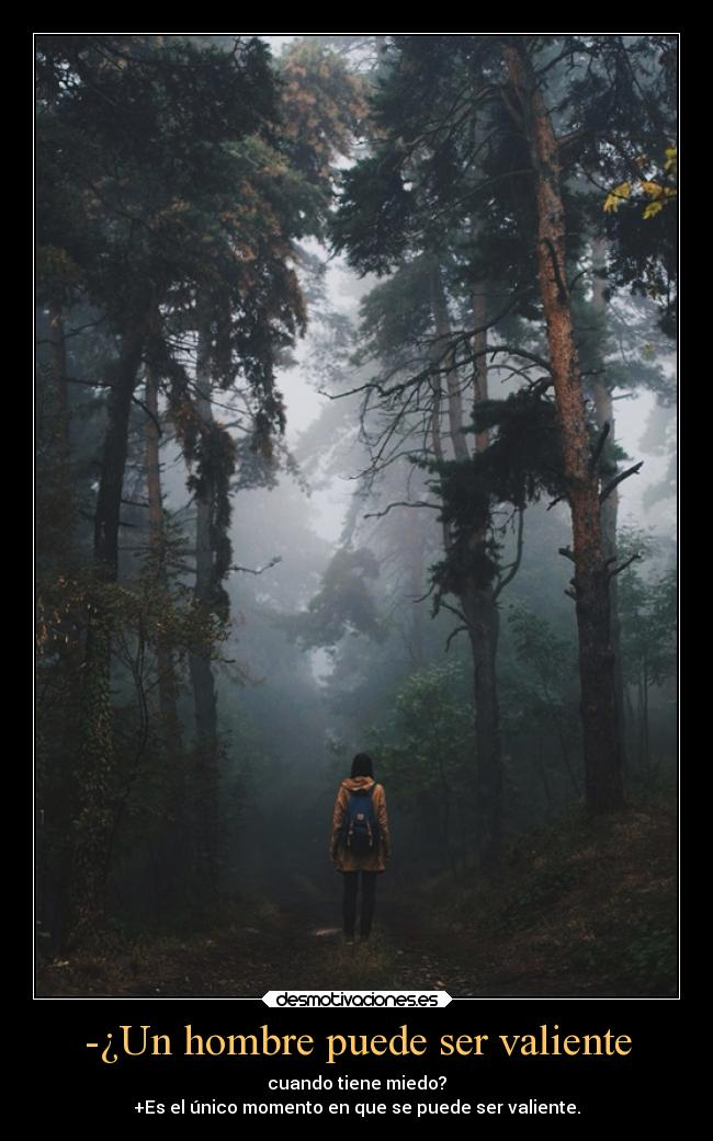 Un hombre solo es valiente cuando tiene miedo sexo sem cobrar Joinville-12350