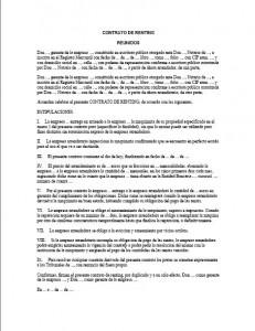 Usado contrato de arrendamiento de automóviles sin depósito far-22266